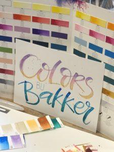 Colors bij Bakker