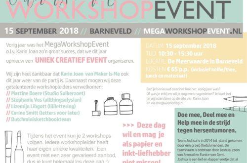 aankondiging MegaWorkshopEvent Barneveld