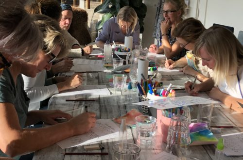 workshop handletteren Limmen